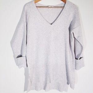 LOFT Outlet Lounge Sweater Women's Light Grey